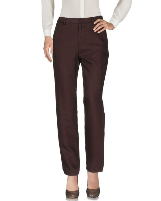 Ottod'Ame | Brown Casual Pants | Lyst