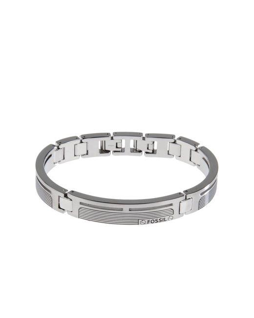 Fossil - Metallic Bracelet for Men - Lyst