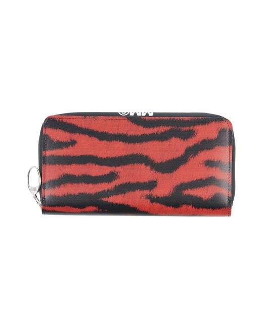MM6 by Maison Martin Margiela - Red Wallets - Lyst