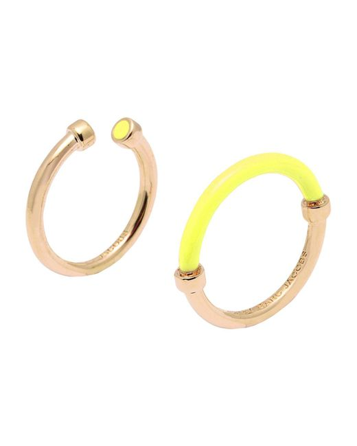 Marc By Marc Jacobs - Yellow Ring - Lyst