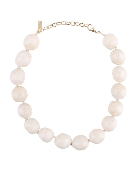 Boutique Moschino - White Necklaces - Lyst