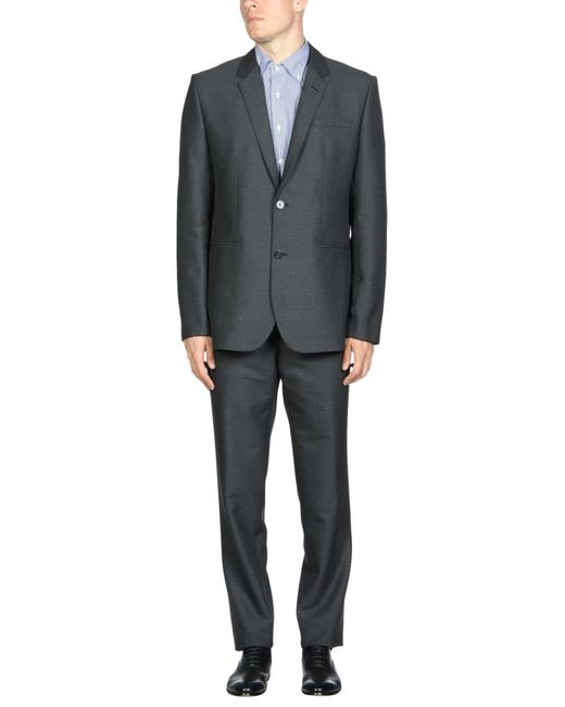 Emporio Armani | Gray Suits for Men | Lyst