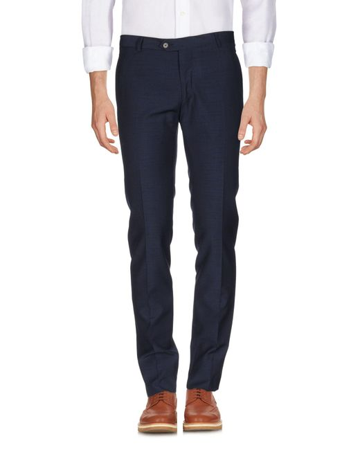 Tonello - Blue Casual Trouser for Men - Lyst