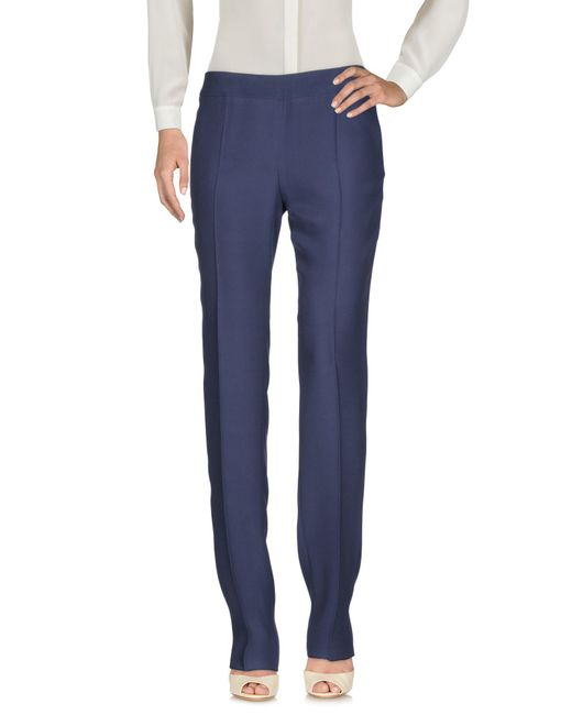 Armani | Blue Casual Pants | Lyst