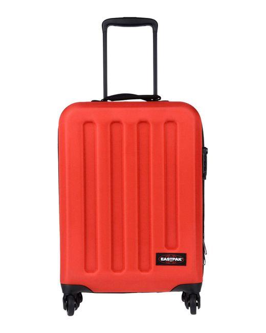 Eastpak - Red Wheeled luggage - Lyst