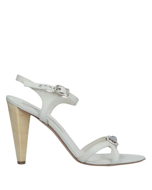 3c19adaecf53 Marc By Marc Jacobs - White Sandals - Lyst ...