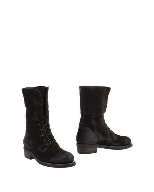 Buttero - Brown Ankle Boots - Lyst