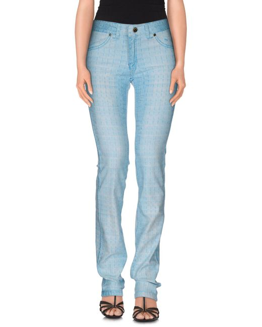 Marani Jeans - Blue Denim Trousers - Lyst