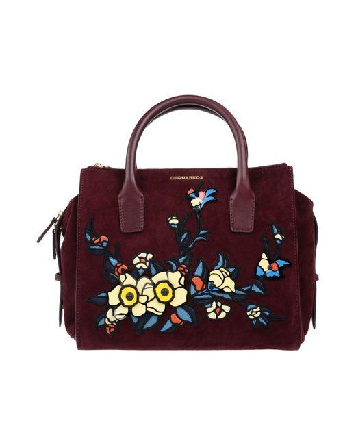 DSquared² - Purple Handbag - Lyst ... 3ff5e23093
