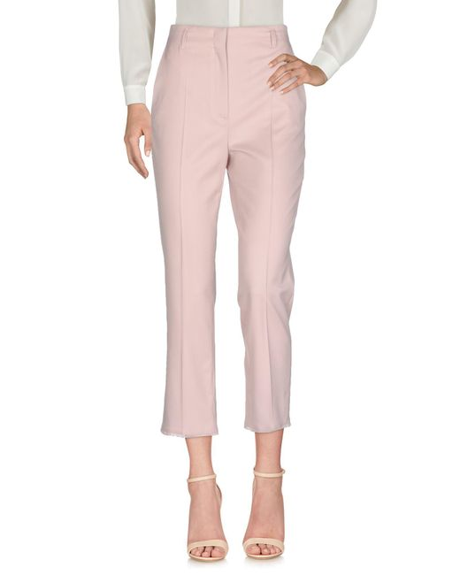 Dorothee Schumacher - Pink Casual Trouser - Lyst