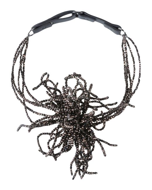 Brunello Cucinelli - Brown Necklace - Lyst