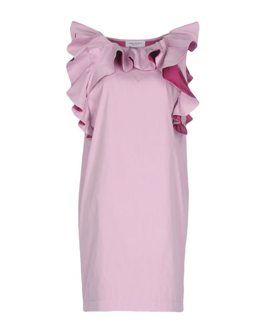 Anna Rachele - Purple Short Dress - Lyst