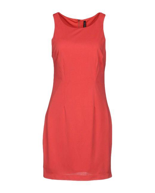 W118 by Walter Baker - Red Short Dress - Lyst