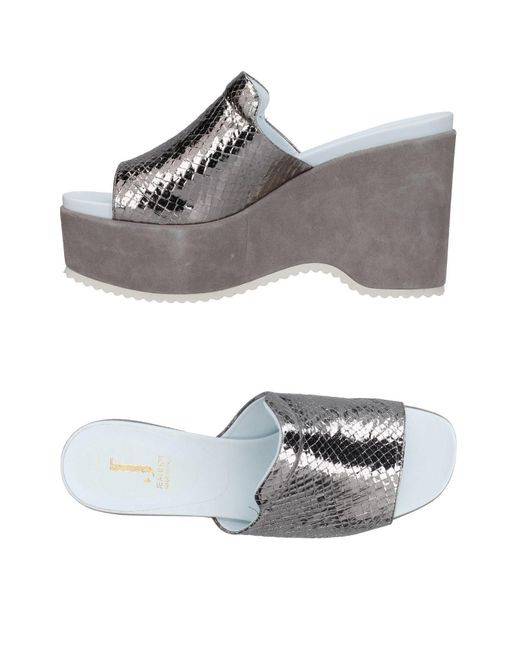 Jeannot - Metallic Sandals - Lyst