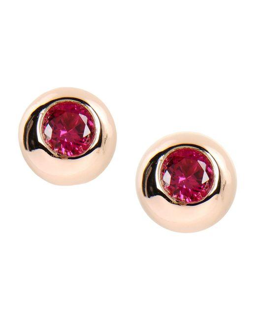 Eddie Borgo - Red Earrings - Lyst
