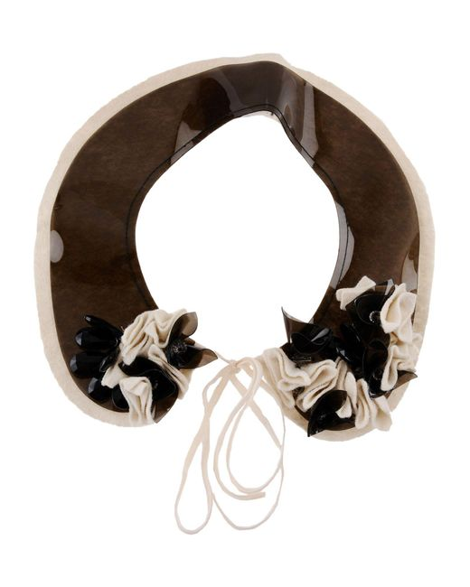 Ki6? Who Are You? - Brown Necklace - Lyst