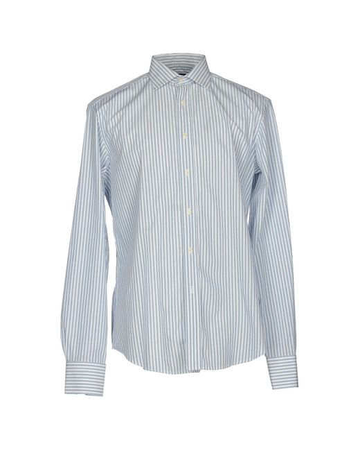 Valentino Roma - Blue Shirt for Men - Lyst