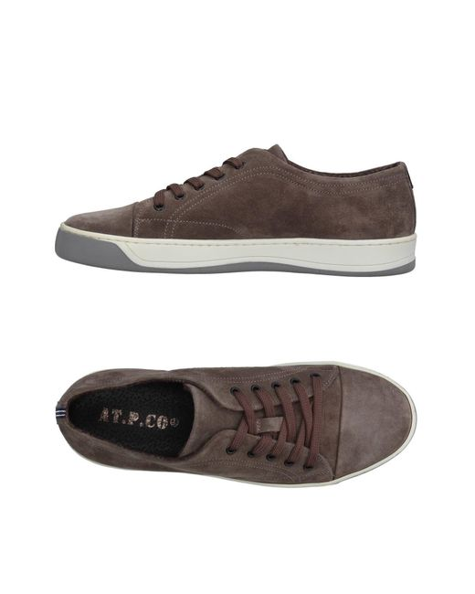 AT.P.CO   Gray Low-tops & Sneakers   Lyst