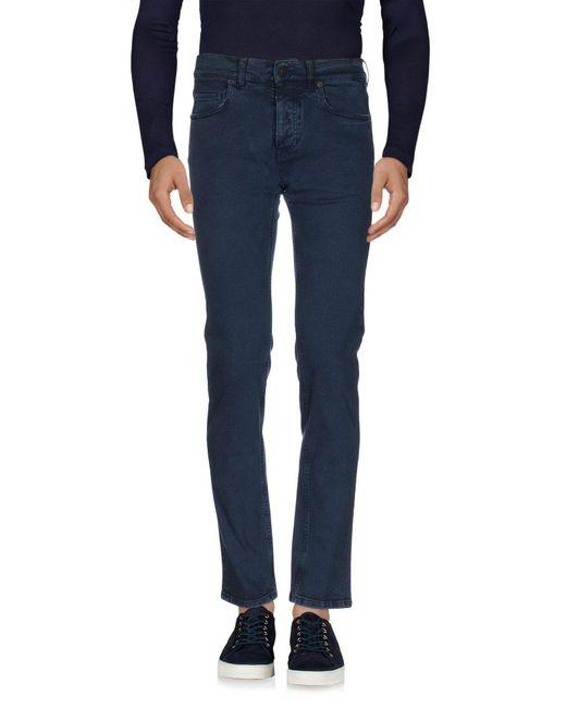 Pence   Blue Denim Pants for Men   Lyst