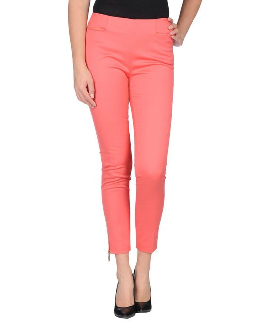 Emilio Pucci - Pink Casual Pants - Lyst