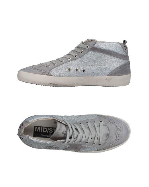 Golden Goose Deluxe Brand - Gray High-tops & Sneakers - Lyst