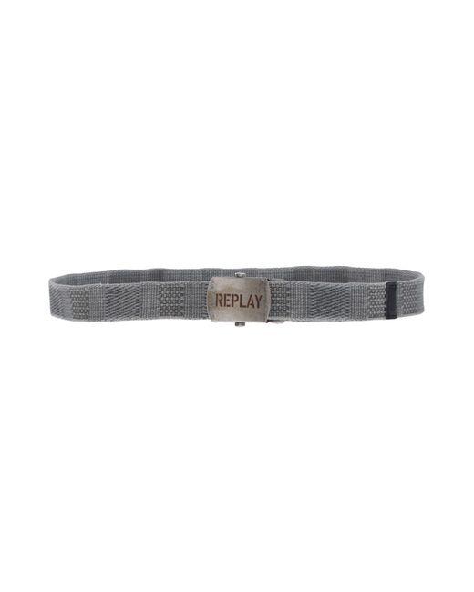 Replay - Green Belts for Men - Lyst