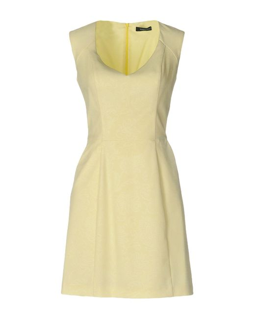 Guess - Yellow Short Dress - Lyst