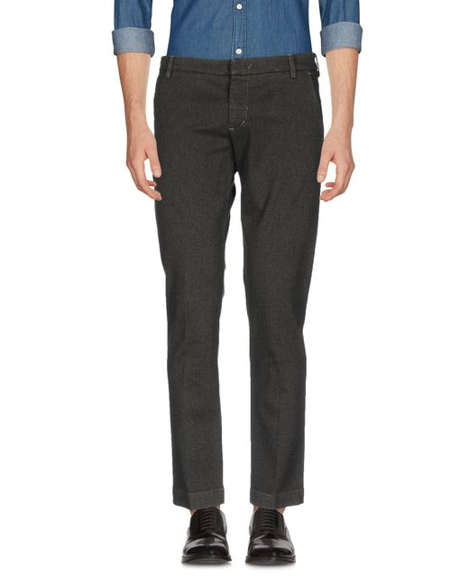 Entre Amis - Gray Casual Pants for Men - Lyst