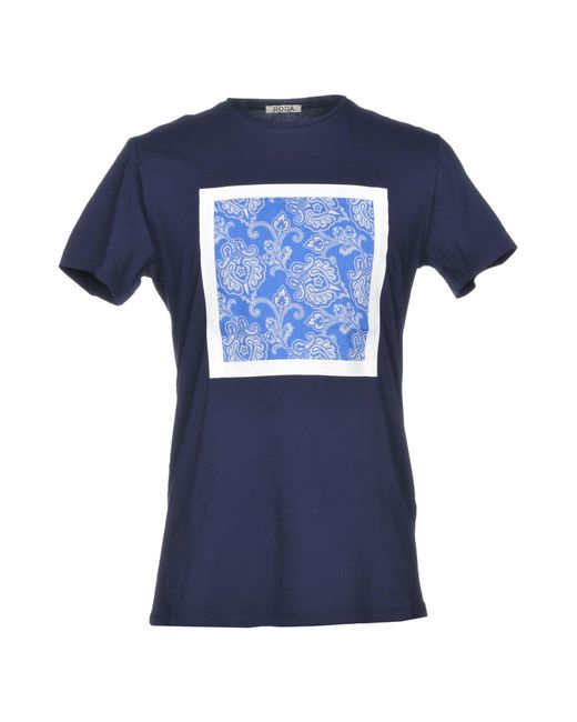 Roda - Blue T-shirt for Men - Lyst
