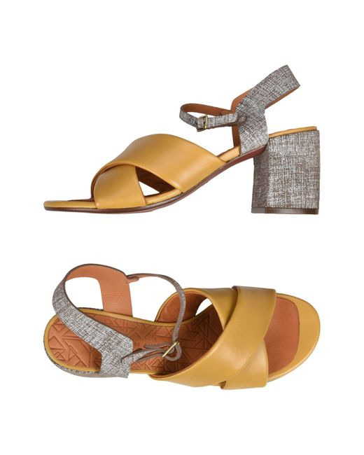 Chie Mihara - Multicolor Sandals - Lyst ... 742b082987a