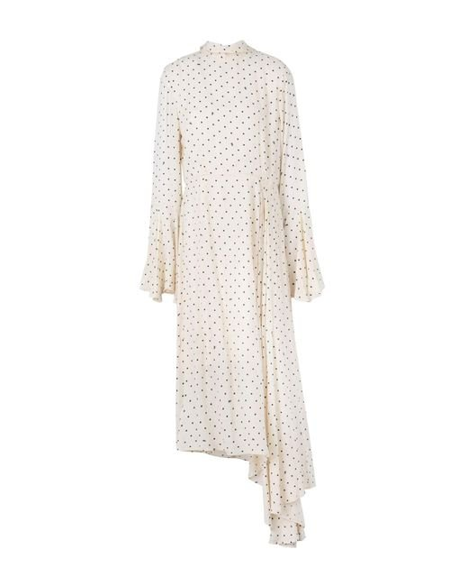 Essentiel Antwerp - Natural Long Dress - Lyst