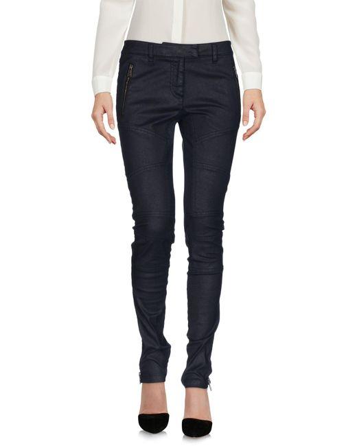 Belstaff - Gray Casual Pants - Lyst