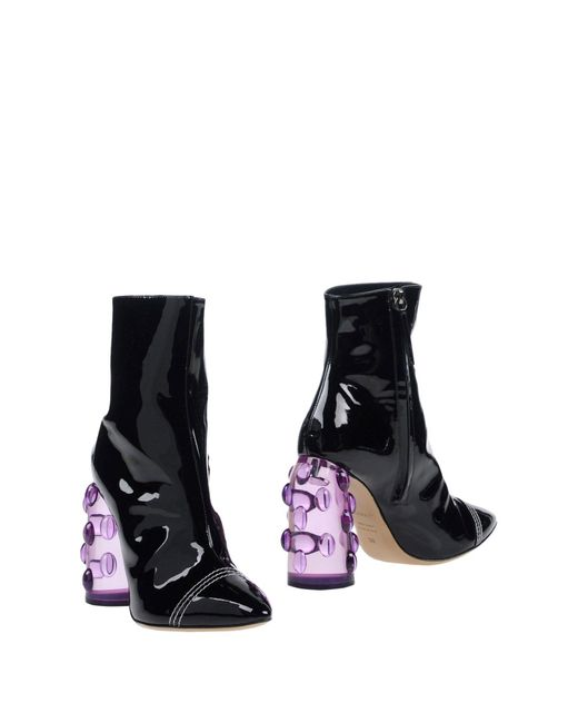 Ellery - Black Ankle Boots - Lyst