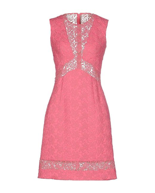 Ermanno Scervino - Pink Short Dress - Lyst
