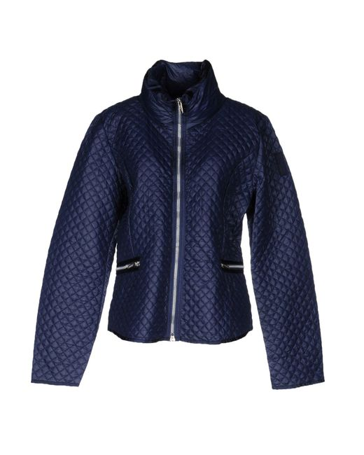 Bomboogie - Blue Down Jacket - Lyst