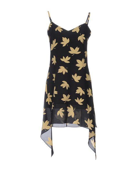 Versus  - Black Short Dress - Lyst