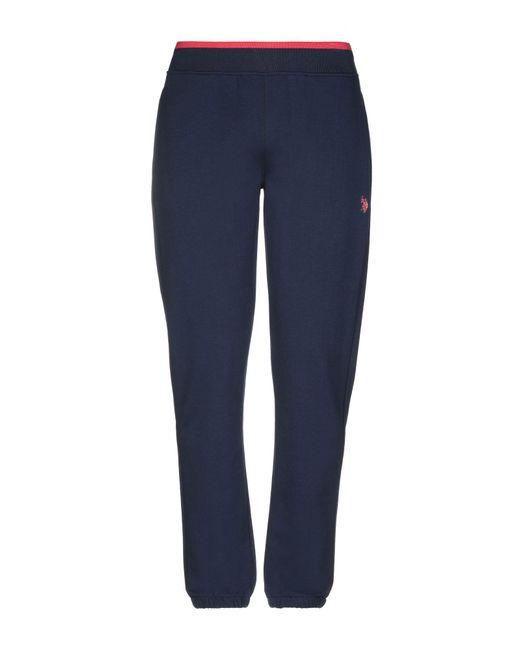 U.S. POLO ASSN. - Blue Casual Trouser for Men - Lyst