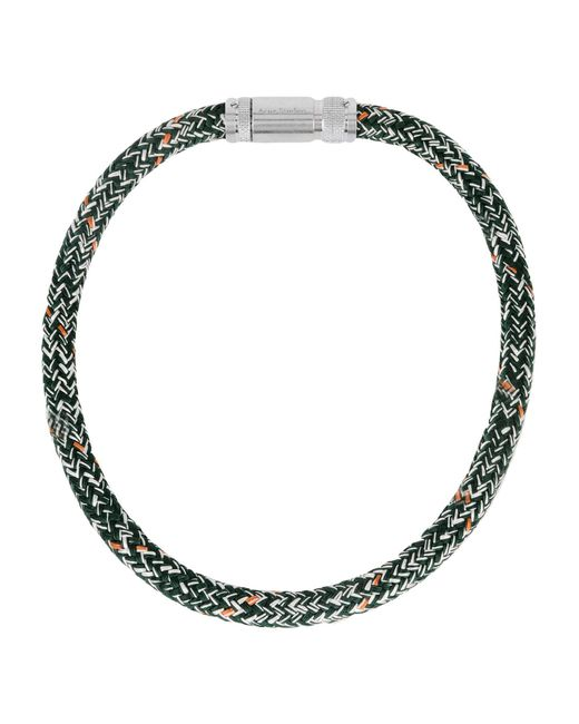 Acne - Green Necklace - Lyst