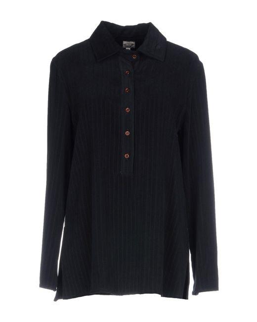 Armani Jeans - Black Shirt - Lyst