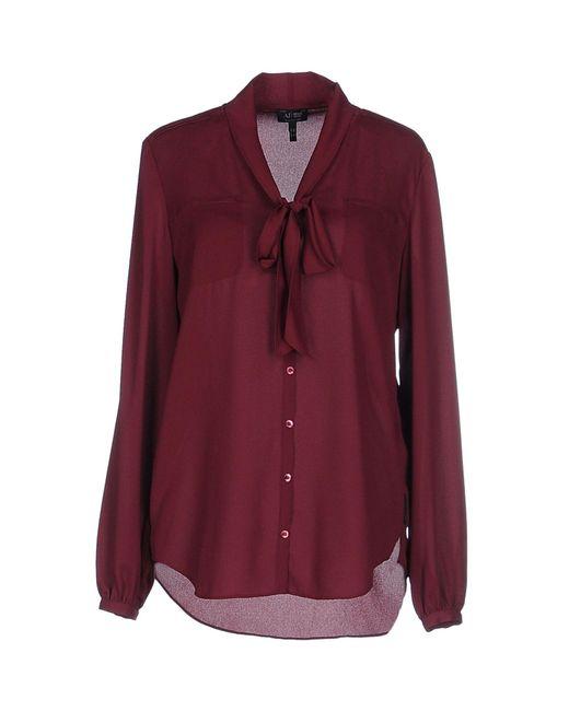 Armani Jeans - Purple Shirts - Lyst