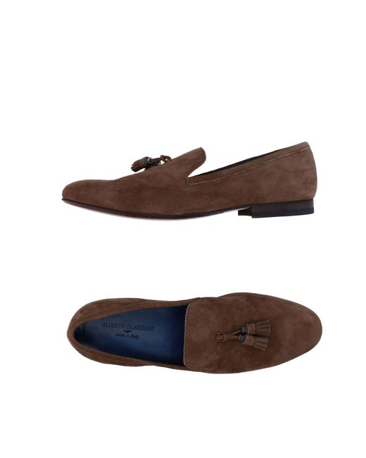 Alberto Guardiani | Brown Loafers | Lyst