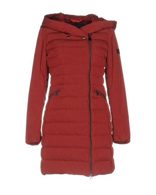 Peuterey - Red Down Jacket - Lyst