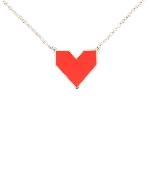 First People First - Red Necklace - Lyst