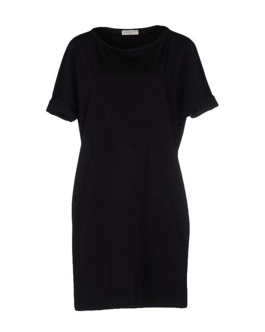 Roberto Collina - Black Short Dress - Lyst