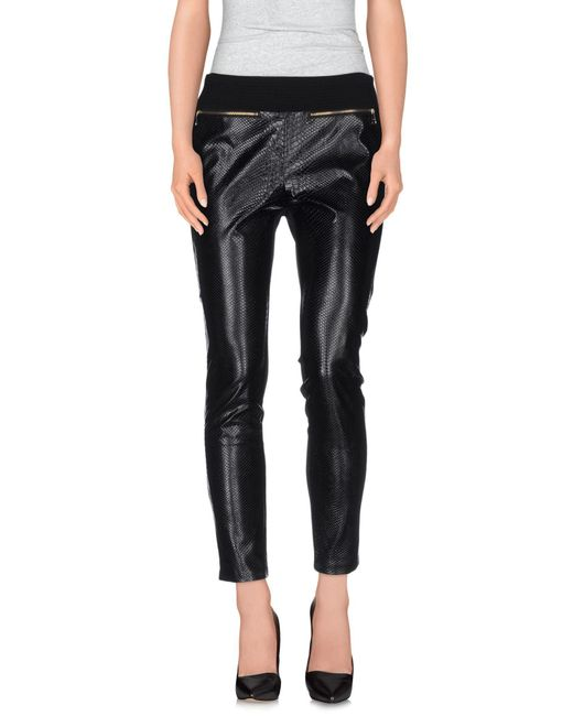 Guess - Black Casual Trouser - Lyst