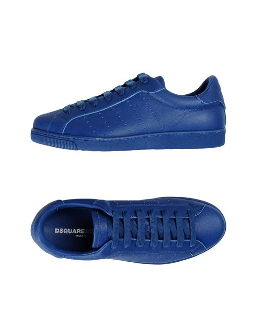DSquared² - Blue Low-tops & Sneakers for Men - Lyst