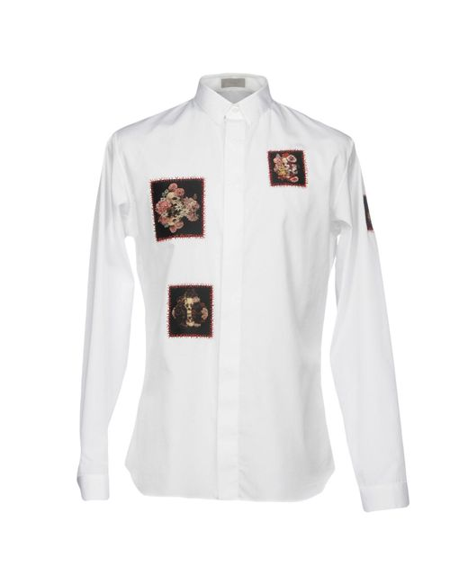 Dior Homme - White Shirts for Men - Lyst