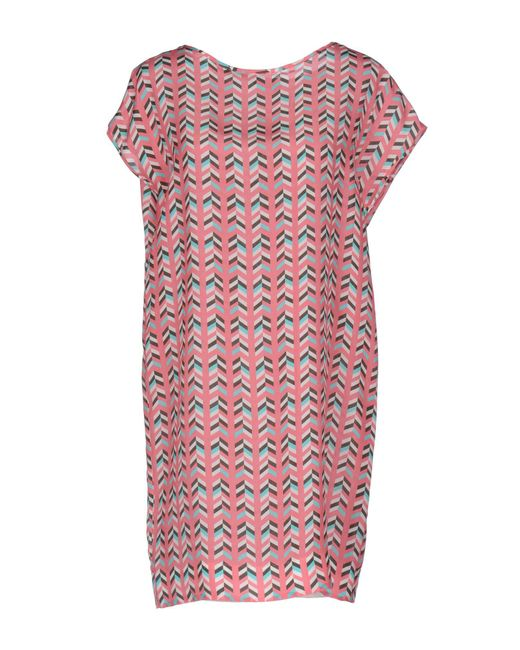 Marco Bologna - Pink Short Dress - Lyst
