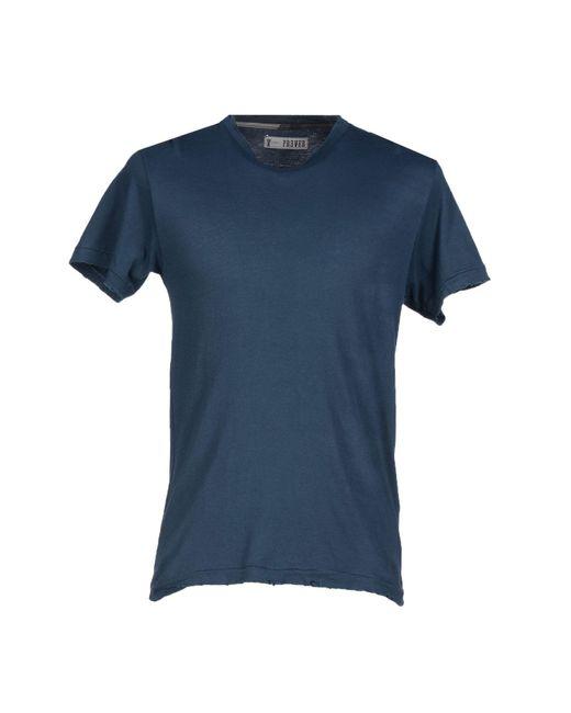 Prever   Blue T-shirt for Men   Lyst