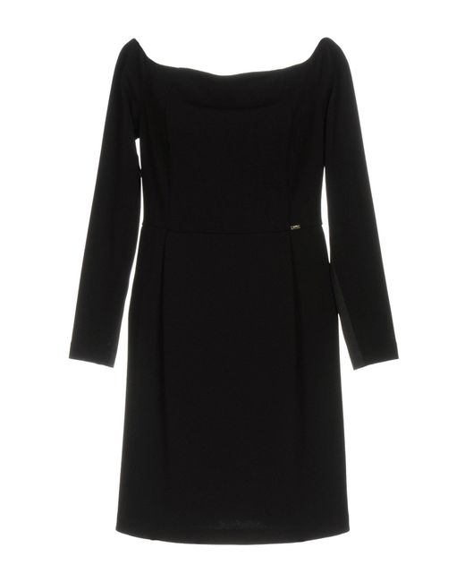 Liu Jo | Black Short Dress | Lyst